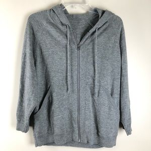Lululemon Zip Up Sweater Hoodie Gray Size S
